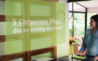 best practice corporate blogs lebensmittel