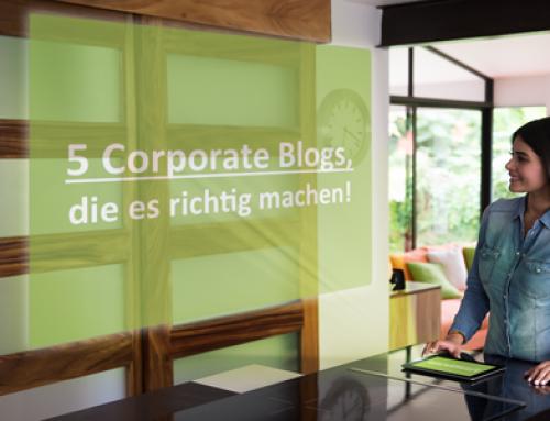 Best Practice Corporate Blogs für Lebensmittel, die es richtig machen!