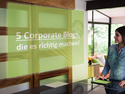 best practice corporate blogs lebensmittel