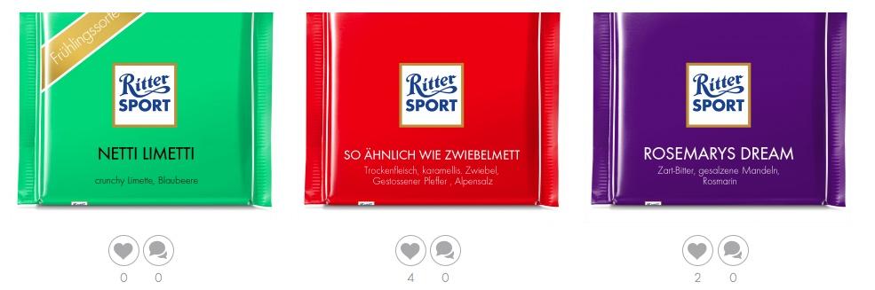 Best Practice Unternehmensblog Ritter Sport