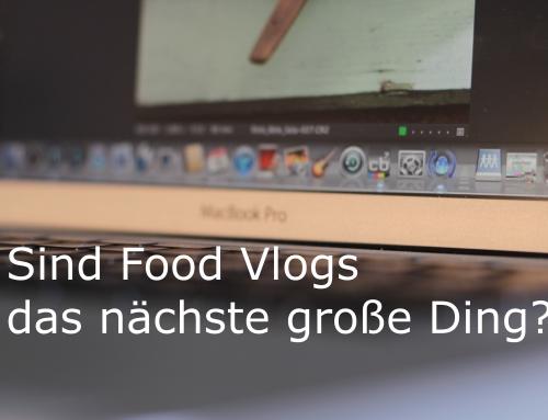 Sind Food Vlogs das nächste große Ding?